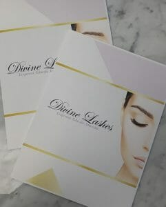 Manuals for the Divine Lashes eyelash extension course
