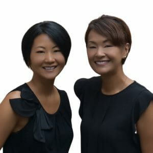 Headshop of Asako Ito and Naoko Ito. Owners of Divine Lashes.