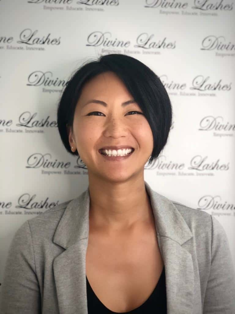 Asako Ito owner of Divine Lashes