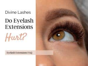 Eyelash extensions FAQ: do eyelash extensions hurt?