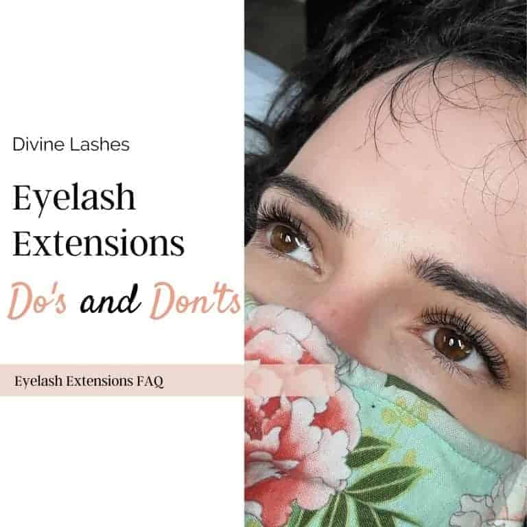 Eyelash Extensions Do's and Don'ts: Avoid Lashes Falling-Out