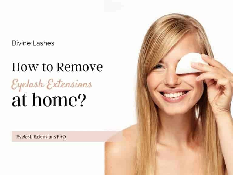 How to Remove Eyelash Extensions at Home [Step-by-Step Guide]