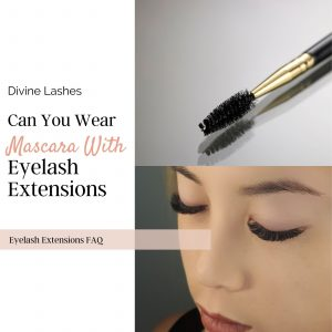 Can you wear mascara with eyelash extensions